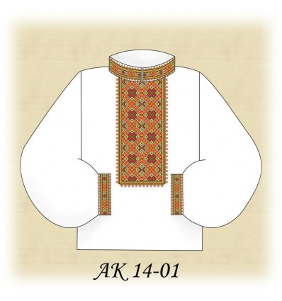 Заготовка мужской рубашки АК 14-01