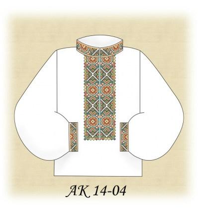 Заготовка мужской рубашки АК 14-04