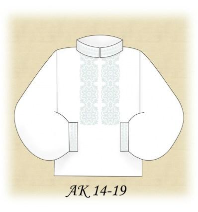 Заготовка мужской рубашки АК 14-19