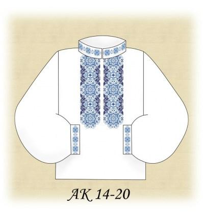 Заготовка мужской рубашки АК 14-20