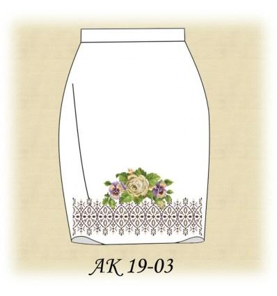 Заготовка юбки АК19-03