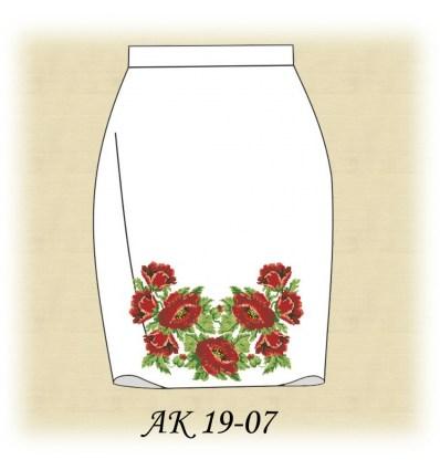 Заготовка юбки АК19-07