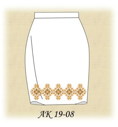 Заготовка спідниці АК19-08