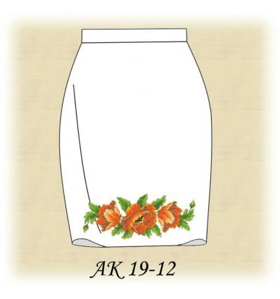 Заготовка юбки АК19-12