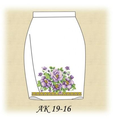 Заготовка юбки АК19-16