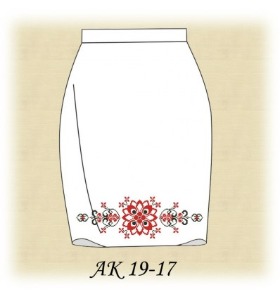 Заготовка юбки АК19-17