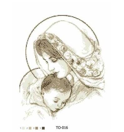 Мадонна с младенцем ТО-017