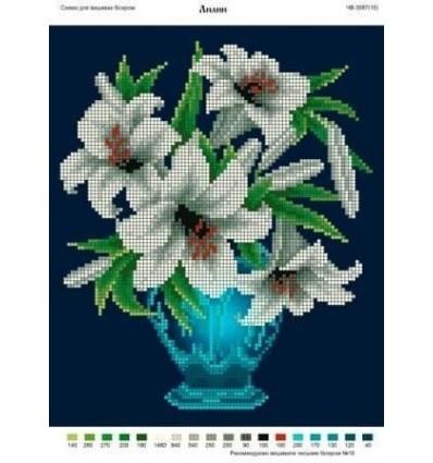 Ваза с лилиями ЧВ-3087