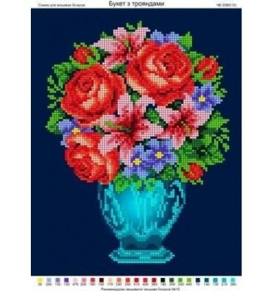 Букет Рози и Лилии ЧВ-3090