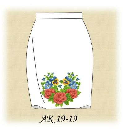 Заготовка юбки АК19-18