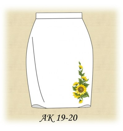 Заготовка спідниці АК 19-19