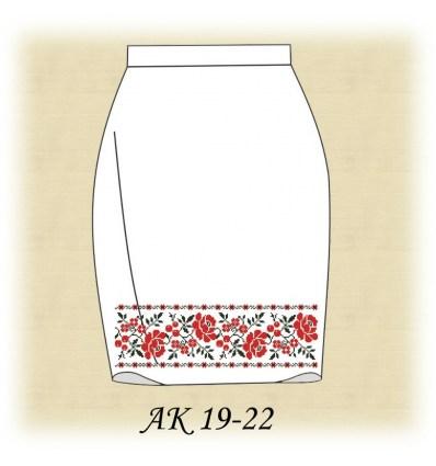 Заготовка спідниці АК 19-21