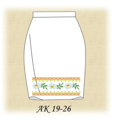 Заготовка спідниці АК 19-25
