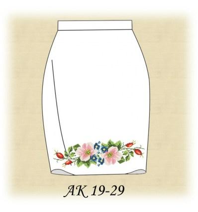 Заготовка юбки АК19-28