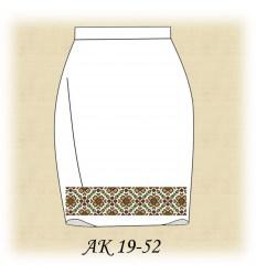 Заготовка юбки АК19-51