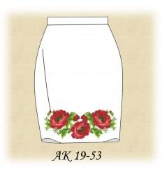Заготовка юбки АК19-52