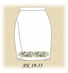 Заготовка юбки АК19-54