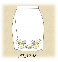 Заготовка юбки АК19-57