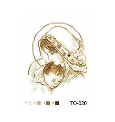 Богородиця з немовлям ТО-020