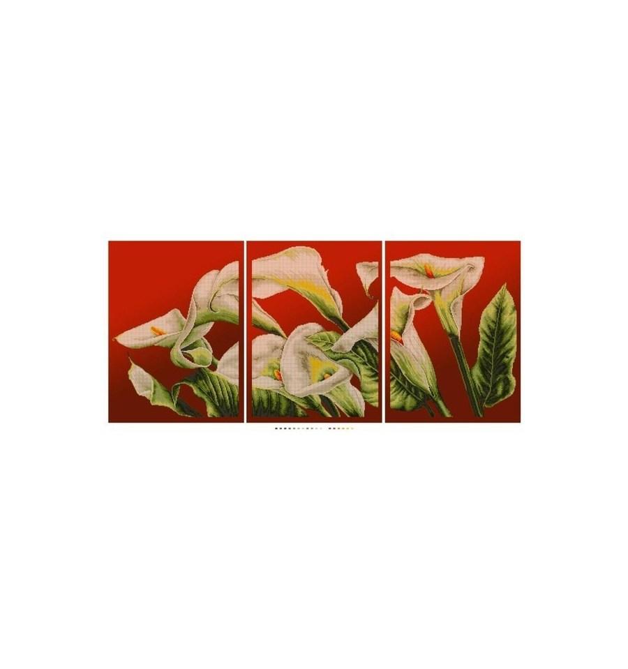 Головна Схеми для вишивки бісером Квіти. Натюрморти Триптих Кали. « Триптих  Лотос · Бузок DANA-2191 ». Наступний. Триптих Лотос bbc529d7fec64