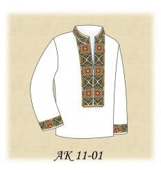 Заготовка дитячої сорочки (домотканое) АК 11-01
