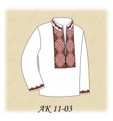 Заготовка детской рубашки (домотканое) АК 11-03