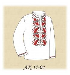 Заготовка детской рубашки (домотканое) АК 11-04