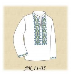 Заготовка детской рубашки (домотканое) АК 11-05