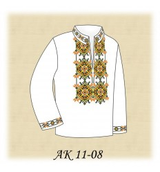 Заготовка детской рубашки (домотканое) АК 11-08