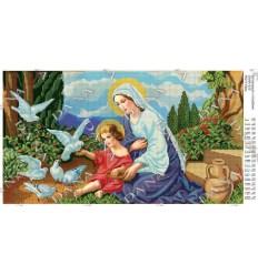 Богородиця с голубами DANA-535