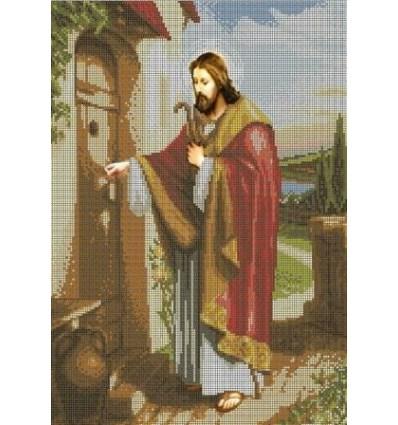 Исус стучить в дверь T0-009