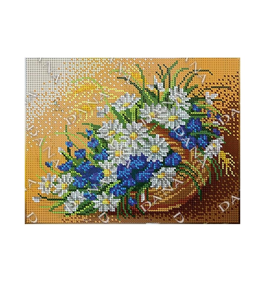 Вишивка бісером Польові квіти DANA-2189 купити недорого в інтернет ... 29e2a1a61eb11