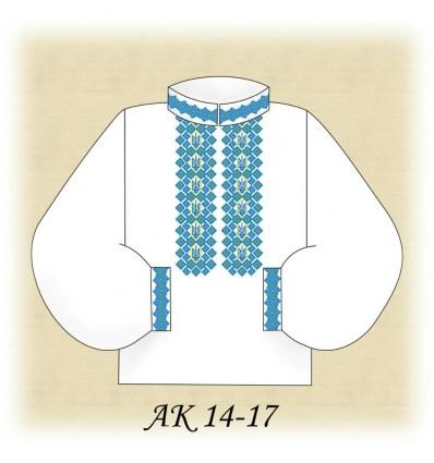 Заготовка мужской рубашки (домотканое) АК 14-17