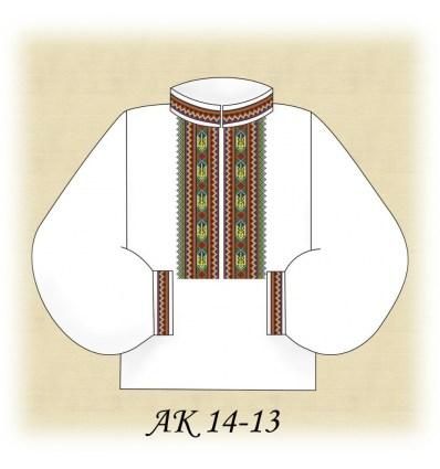 Заготовка мужской рубашки (домотканое) АК 14-13
