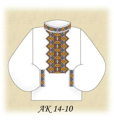 Заготовка мужской рубашки (домотканое) АК 14-10