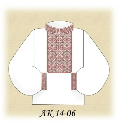 Заготовка мужской рубашки (домотканое) АК 14-06