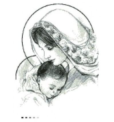 Мадонна с младенцем ТО-015