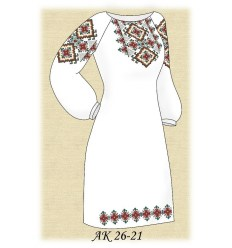 Заготовка платья (домотканое) АК 26-21