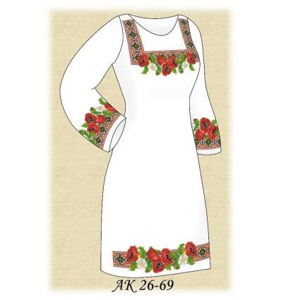 Заготовка платья (домотканое) АК 26-69