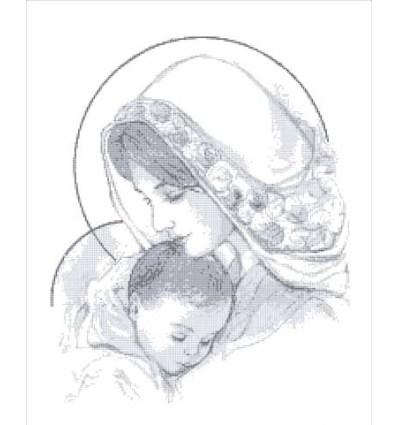 Мадонна с младенцем ТО-011