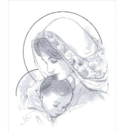 Мадонна с младенцем ТО-003