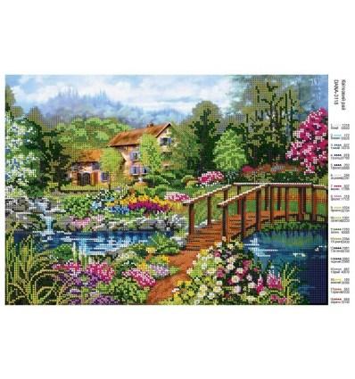 Цветочний  рай DANA-3118