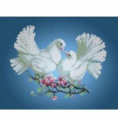 Голуб и голубка DANA-3248
