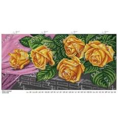 Жолтые розы DANA-558