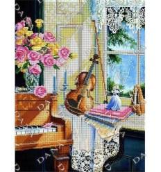 Розы на рояле DANA-3272