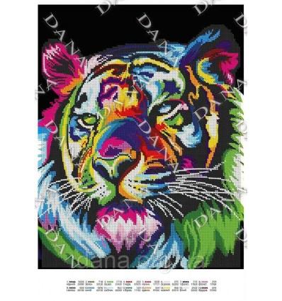 Радужный тигр DANA-3449
