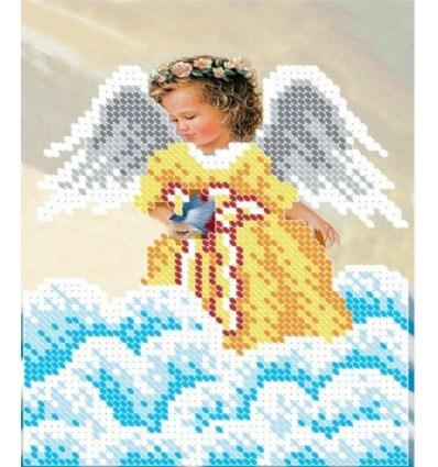Ангелочек с свечкой ЧВ-2332