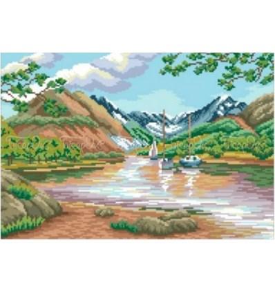 Домик у озера чв-10-338
