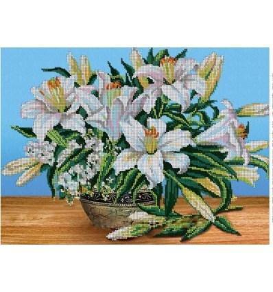 Белые лилии  DANA-356(н)