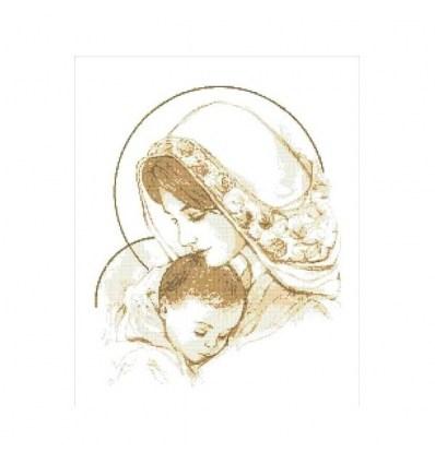 Мадонна с младенцем ТО-007(н)